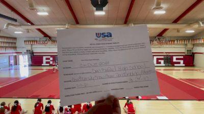 San Rafael High School [Coed Varsity Show Cheer Non Tumbling Advanced Prelims] USA Spirit & Dance Virtual National Championships