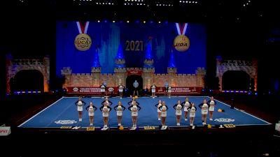 Towson University [2021 All Girl Division I Semis] 2021 UCA & UDA College Cheerleading & Dance Team National Championship