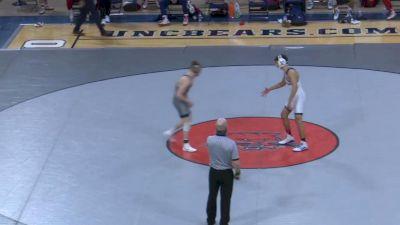 133- Ryan Sullivan (West Virginia) vs Haiden Drury (Fresno State)