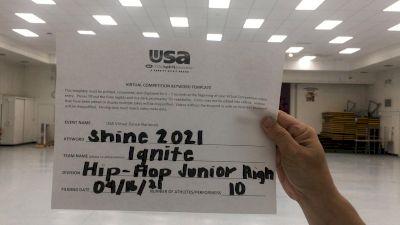 Rose School [Hip Hop Junior High] 2021 USA Spirit & Dance Virtual National Championships