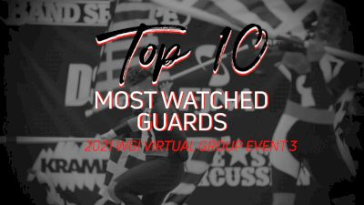Top 10: Most Watched Guard - WGI Virtual Group Event 3