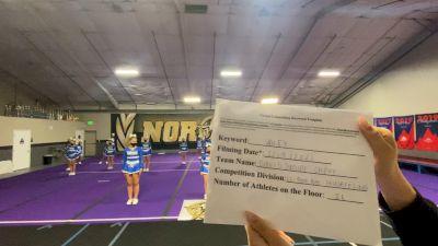 Davis Jr Blue Devils - Competitive [L1 Performance Recreation - 14 & Younger (NON) - NB] 2021 Varsity Rec, Prep & Novice Virtual Challenge IV