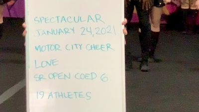 Motor City Cheer - Love [L6 Senior Coed Open] 2021 ATC International Virtual Championship