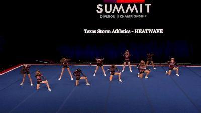 Texas Storm Athletics - HEATWAVE [2021 L2 Junior - Small Finals] 2021 The D2 Summit