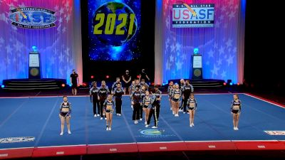 Cheer Athletics - Charlotte - Royal Cats [2021 L6 International Open Large Coed Finals] 2021 The Cheerleading Worlds