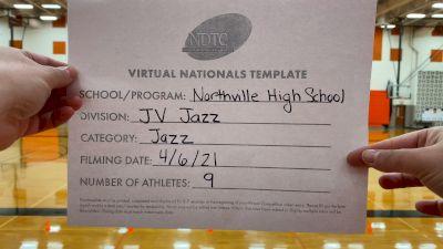 Northville High School [Junior Varsity - Jazz Virtual Semi Finals] 2021 UDA National Dance Team Championship