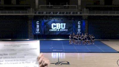 California Baptist University [Virtual Advanced All-Girl Division I Finals] 2021 NCA & NDA Collegiate Cheer & Dance Championship