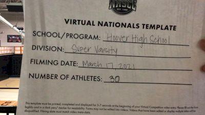 Hoover High School [Virtual Super Varsity Finals] 2021 UCA National High School Cheerleading Championship
