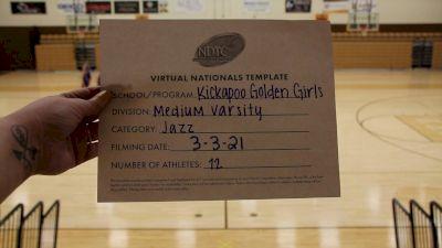 Kickapoo High School [Small Varsity - Jazz Virtual Finals] 2021 UDA National Dance Team Championship