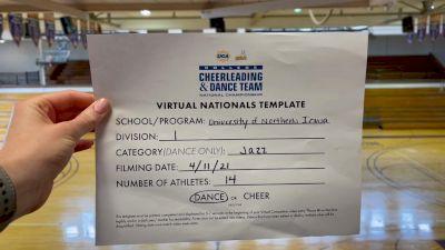 University of Northern Iowa [Virtual Division I Jazz Semi Finals] 2021 UCA & UDA College Cheerleading & Dance Team National Championship