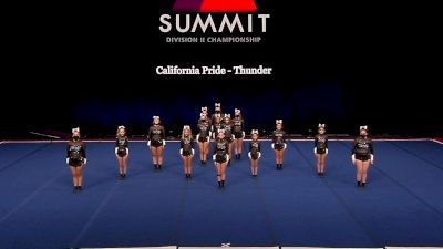 California Pride - Thunder [2021 L1 Junior - Small Semis] 2021 The D2 Summit