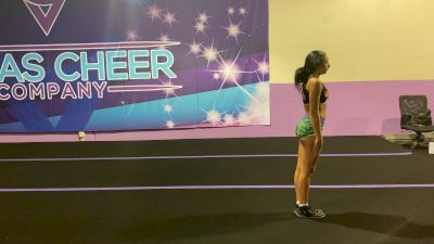 Amanda Martinez - Standing Tumbling [Level 3 - Week 4] 2020 Varsity TV Level Legacy Challenge