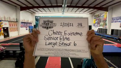 Cheer Extreme - Senior Elite [L6 Senior - Large] 2021 NCA All-Star Virtual National Championship