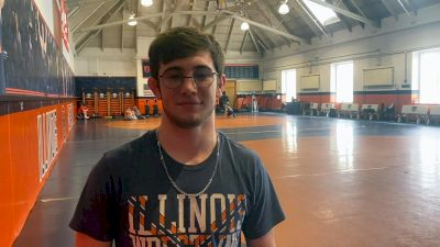 Austin DeSanto told Lucas Byrd He Improved At B1G Championships