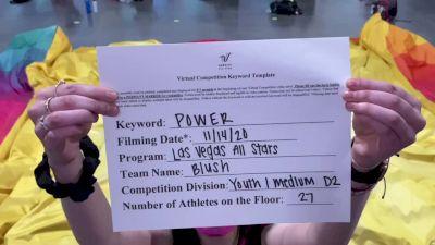Las Vegas All Stars - Blush [L1 Youth - Medium] Varsity All Star Virtual Competition Series: Event V