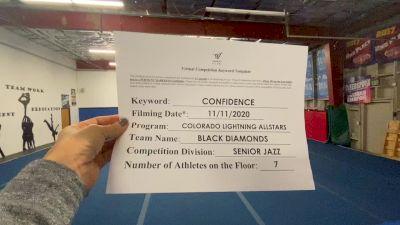 Colorado Lightning Athletics - Black Diamonds [Senior - Jazz - Small] Varsity All Star Virtual Competition Series: Event IV