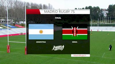 Replay - Kenya vs Argentina (M)