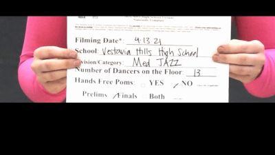 Vestavia Hills High School [Virtual Medium Varsity - Jazz Finals] 2021 NDA High School National Championship