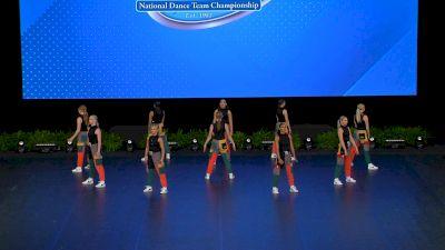 Hamilton High School - Dance Company [2021 Small Varsity Hip Hop Semis] 2021 UDA National Dance Team Championship