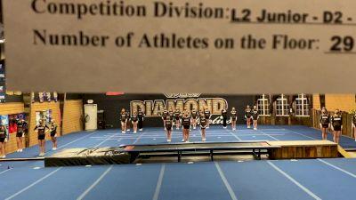 Diamond Athletics - Prestige [L2 Junior - D2 - Medium] 2021 Varsity All Star Winter Virtual Competition Series: Event II