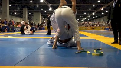 Fellipe Andrew Almost Rips His Opponent's Foot Off
