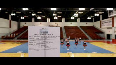 University of Nevada- Las Vegas [Virtual All-Girl Division IA Semi Finals] 2021 UCA & UDA College Cheerleading & Dance Team National Championship