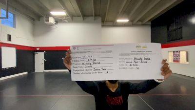 Velocity Dance [Junior - Pom] 2021 UDA Northeast Spring Virtual Dance Challenge