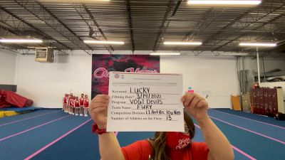 VOGT Devils - Fury [L1 Performance Recreation - 10 and Younger (NON)] 2021 NCA & NDA Virtual March Championship