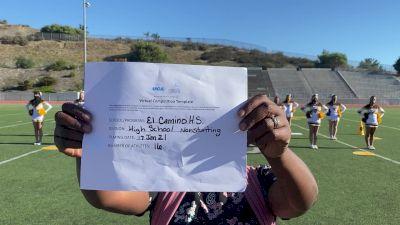 El Camino High School [Game Day Varsity Non-Building] 2021 UCA January Virtual Challenge