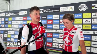 Stefan Küng & Marlen Reusser: So Close But Still Disappointed