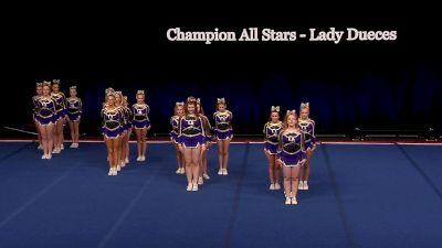 Champion All Stars - Lady Dueces [2021 L2 Junior - Small Wild Card] 2021 The D2 Summit