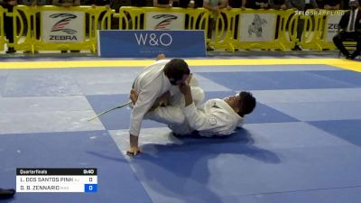 Lucsa Pinheiro Jumps On The Toehold Finish