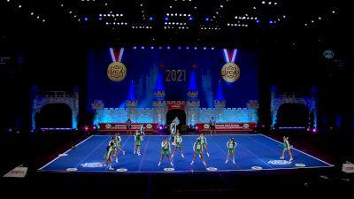 St Brendan High School [2021 Small Junior Varsity Semis] 2021 UCA National High School Cheerleading Championship