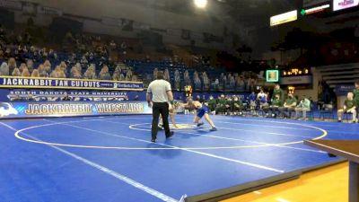 157 lbs Jared Franek, NDSU vs Parker Simington, Air Force