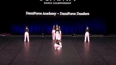 DanzForce Academy - Danzforce Dazzlers [2021 Junior Hip Hop - Small Finals] 2021 The Dance Summit