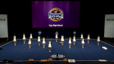 Opp High School [2021 Small Non Tumbling Semis] 2021 UCA National High School Cheerleading Championship